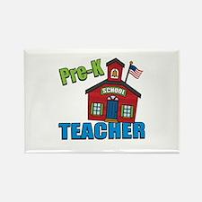 Pre-K Teacher Rectangle Magnet