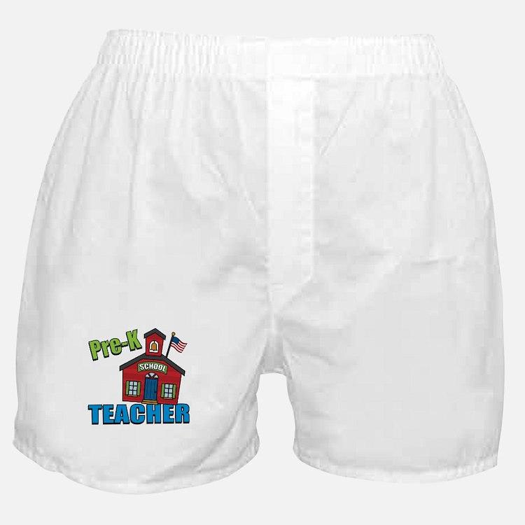Pre-K Teacher Boxer Shorts