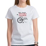 Invisibly Disabled Women's T-Shirt