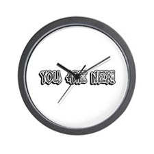 You Are Nex! Wall Clock