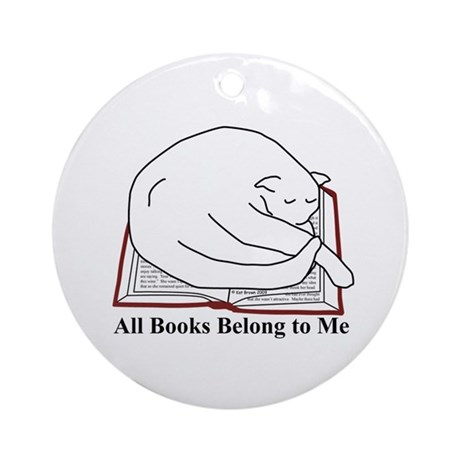 All books... Ornament (Round)