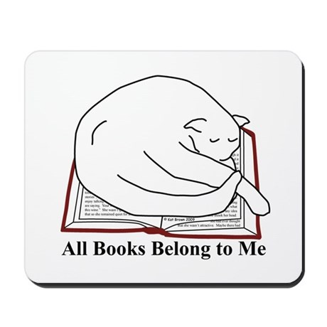 All books... Mousepad