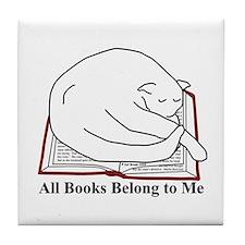 All books... Tile Coaster