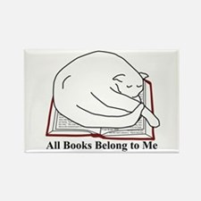 All books... Rectangle Magnet