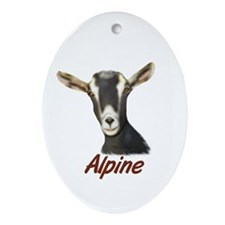 Alpine Portrait Annabelle Oval Ornament