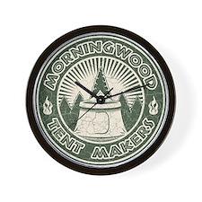 Morningwood Tent Makers Wall Clock