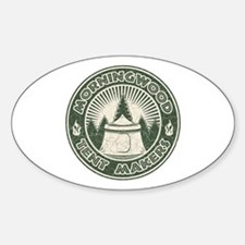 Morningwood Tent Makers Oval Decal
