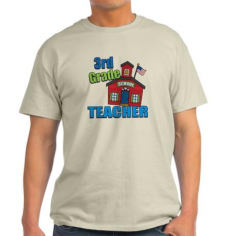 3rd Grade Teacher Light T-Shirt