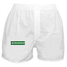 I Love Roadhead Boxer Shorts