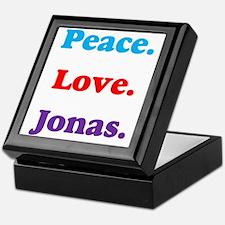 Peace. Love. Jonas. Keepsake Box
