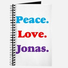 Peace. Love. Jonas. Journal