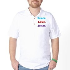 Peace. Love. Jonas. T-Shirt