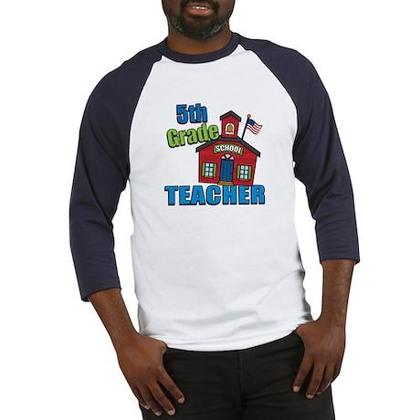 5th Grade Teacher Baseball Jersey