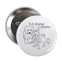 "TLC Retro Logo 2.25"" Button"
