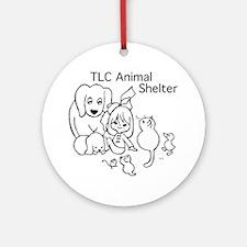 TLC Retro Logo Ornament (Round)