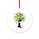Tree Design #2033 Ornament (Round)