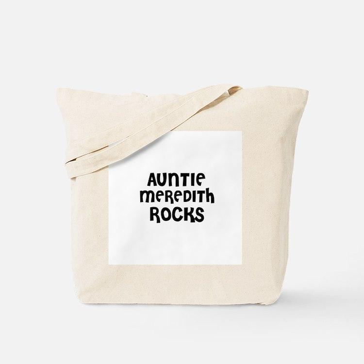 AUNTIE MEREDITH ROCKS Tote Bag