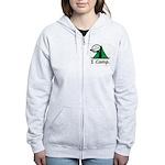 BusyBodies Camping Women's Zip Hoodie