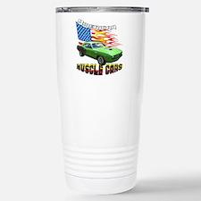 Green Barracuda Stainless Steel Travel Mug