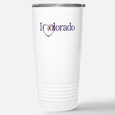I Heart Colorado Travel Mug