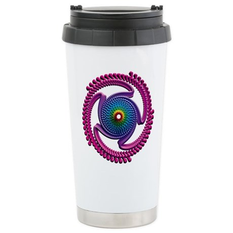 Spiral Candy2 Stainless Steel Travel Mug