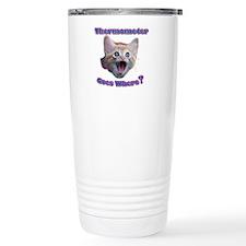 Cat Thermometer Travel Mug