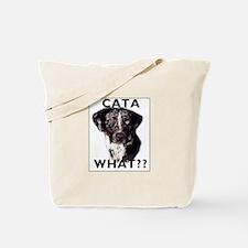 cata WHAT? Tote Bag