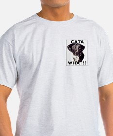 cata WHAT? Ash Grey T-Shirt