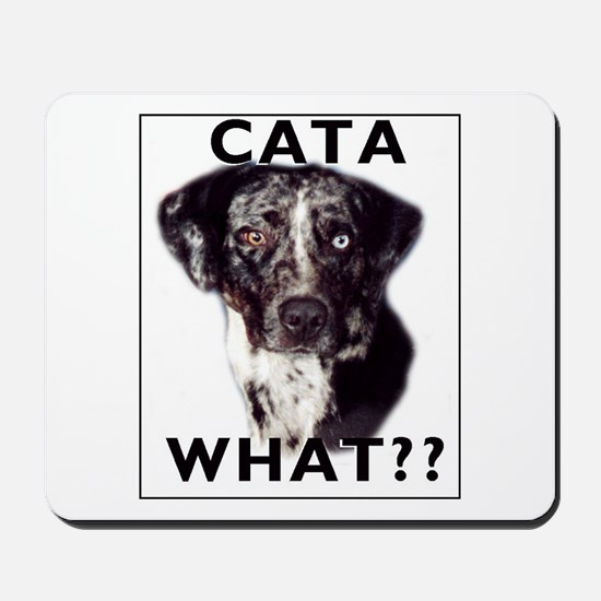 cata WHAT? Mousepad