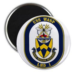 USS Wasp LHD-1 Navy Ship Magnet