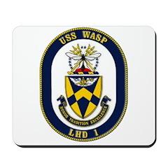 USS Wasp LHD-1 Navy Ship Mousepad
