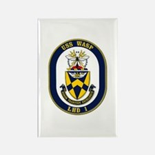 USS Wasp LHD-1 Navy Ship Rectangle Magnet