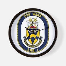 USS Wasp LHD-1 Navy Ship Wall Clock