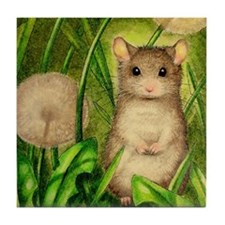 Little Mouse Tile Coaster