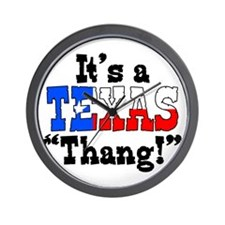 It's a Texas Thang! Wall Clock