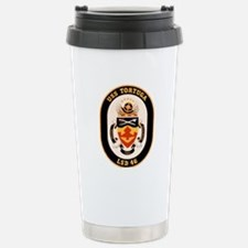 USS Tortuga LSD-46 Navy Ship Travel Mug