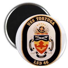 USS Tortuga LSD-46 Navy Ship Magnet