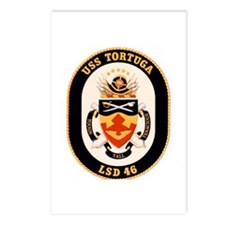 USS Tortuga LSD-46 Navy Ship Postcards (Package of