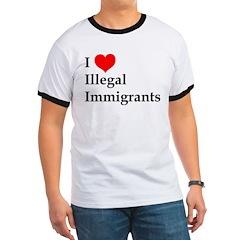 I Love Illegals T