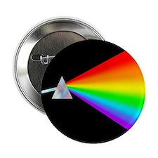 """Rainbow Prism 2.25"""" Button"""