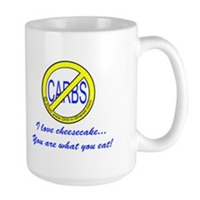 """I love cheesecake..."" Mug"