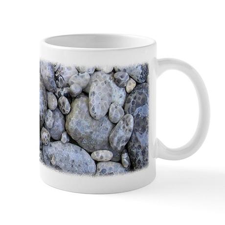 Petoskey Stone Photo Coffee Mug