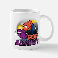 Cute Alzheimers disease boxing gloves Mug
