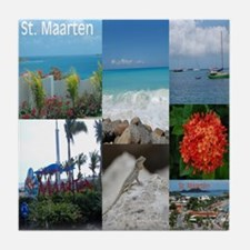 Sint Maarten - St. Martin Photo Tile Coaster