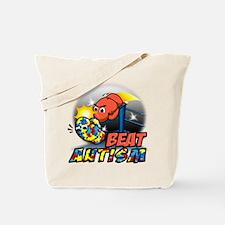 Unique Alzheimers disease boxing gloves Tote Bag