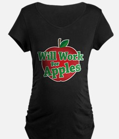 Will Work For Apples T-Shirt