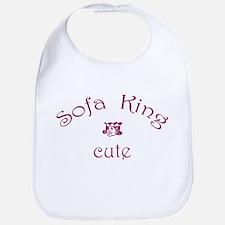 Sofa King Cute Bib