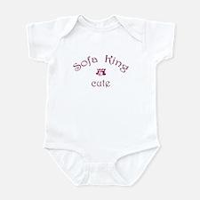 Sofa King Cute Infant Bodysuit