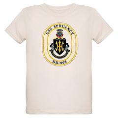 USS Spruance DD-963 Navy Ship T-Shirt