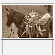 Cowboy 2 Yard Sign